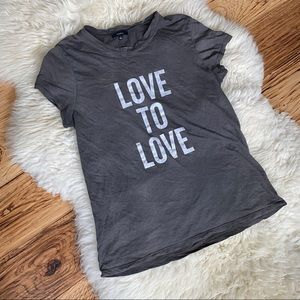 Talula Love to Love Quote Soft T-shirt
